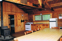 interior - Clifflake Camp